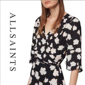 ALLSAINTS • Delana Caro Wrap Dress • NWT